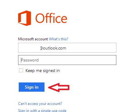 office.com login