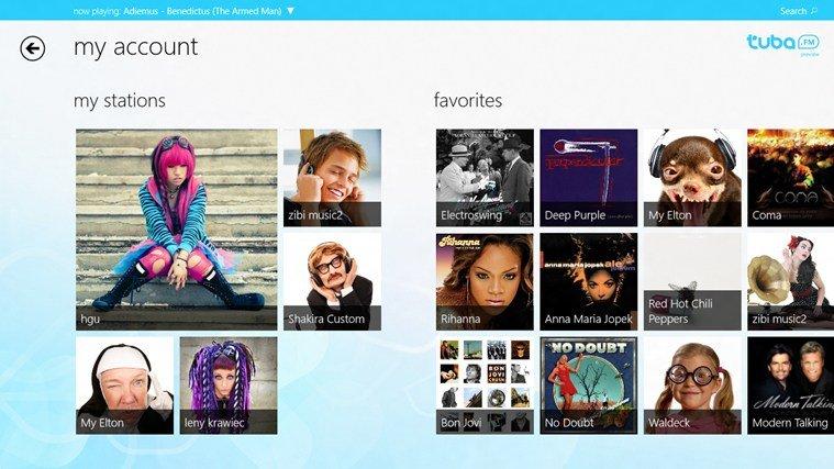 windows 8 tuba.fm app image