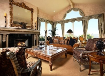 Antique Style Living Rooms | How To Build A House