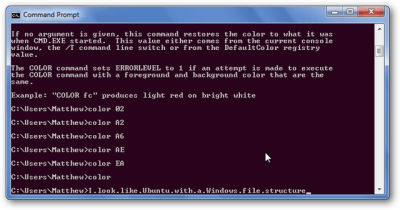 How To Personalize the Windows Command Prompt