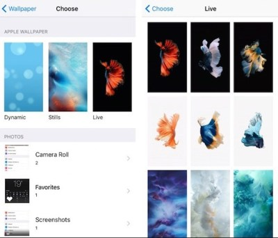 How to Change Background image in iOS 9/ iOS 10/ iOS 11: iPhone
