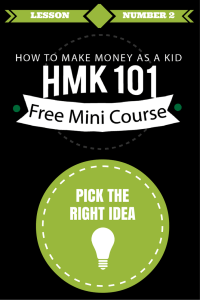 How to Pick the Right Money Making Idea