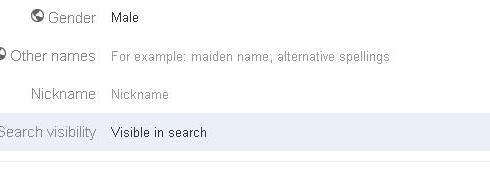 search visibility google plus