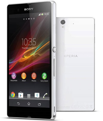 Force to Restart Xperia Z Smart Phone with Built in Battery