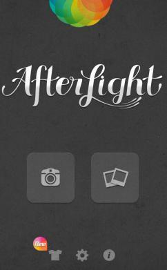 Manage photos using Afterlight for iOS