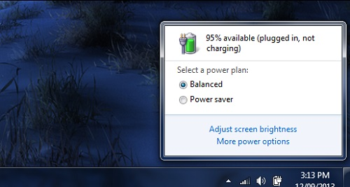 How to manage your Laptop's battery life