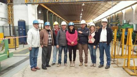 Concejales de Cambiemos visitaron Aceros Borroni
