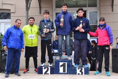 Sebastián Irusta ganó la prueba atlética de punta a punta