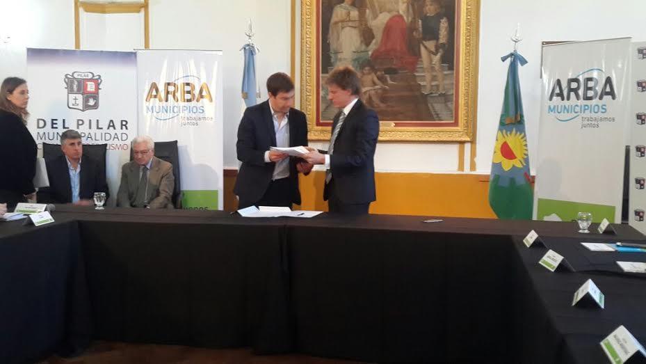 El municipio firmó un convenio de colaboración institucional con ARBA