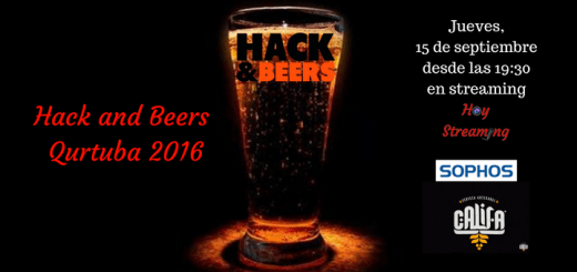 Emisión en streaming de Hack and Beers desde Qurtuba