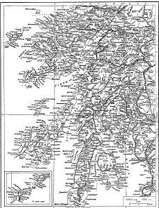 Map of Argyllshire