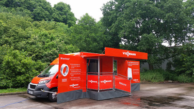 ?Viessmann's new Infomobile display vehicle will demonstrate how consumers can save energy and lower fuel bills with the latest heating