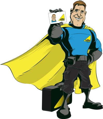 Doug, the Gas Safety Hero, who will be seen regularly throughout Gas Safety Week next month.