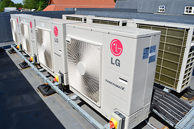 Heat pumps have been very well received in a recent government report.