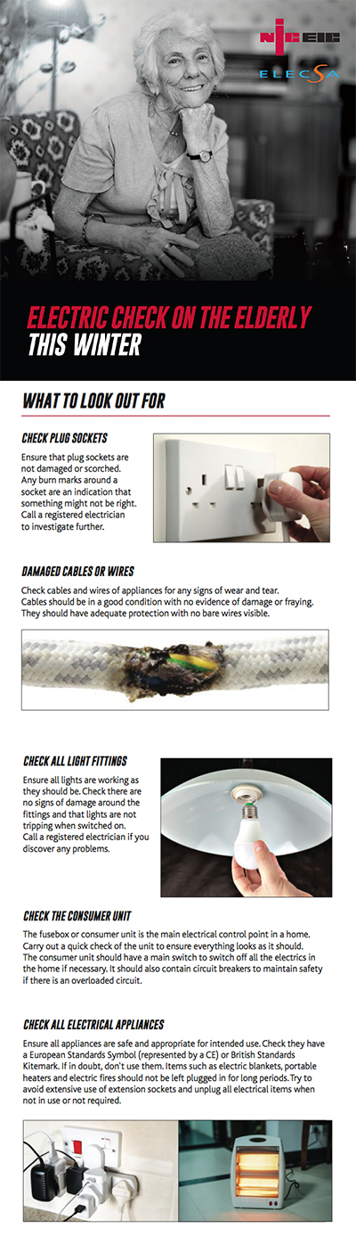 Make an electric check part of your routine this winter
