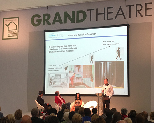 Dave Raynor, on stage at Grand Designs Live 2013, said that the changes are a result of a lot of background work.