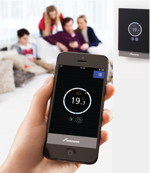 The Wave App allows remote adjustment of heating and hot water performance.
