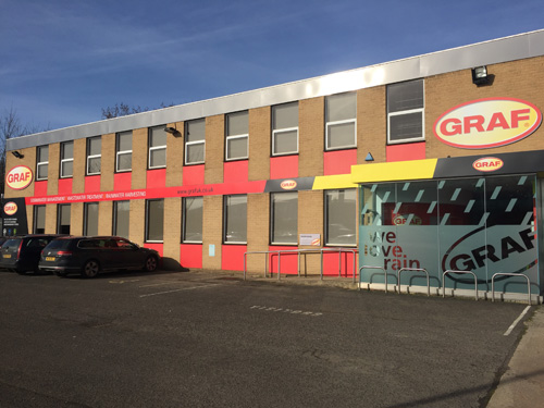 New GRAF UK Banbury office