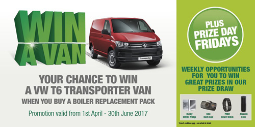 Graham Plumber's Merchant's 'Win a Van' promotion begins