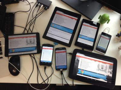 Synchronized Cross-device Mobile Testing - HTML5 Rocks