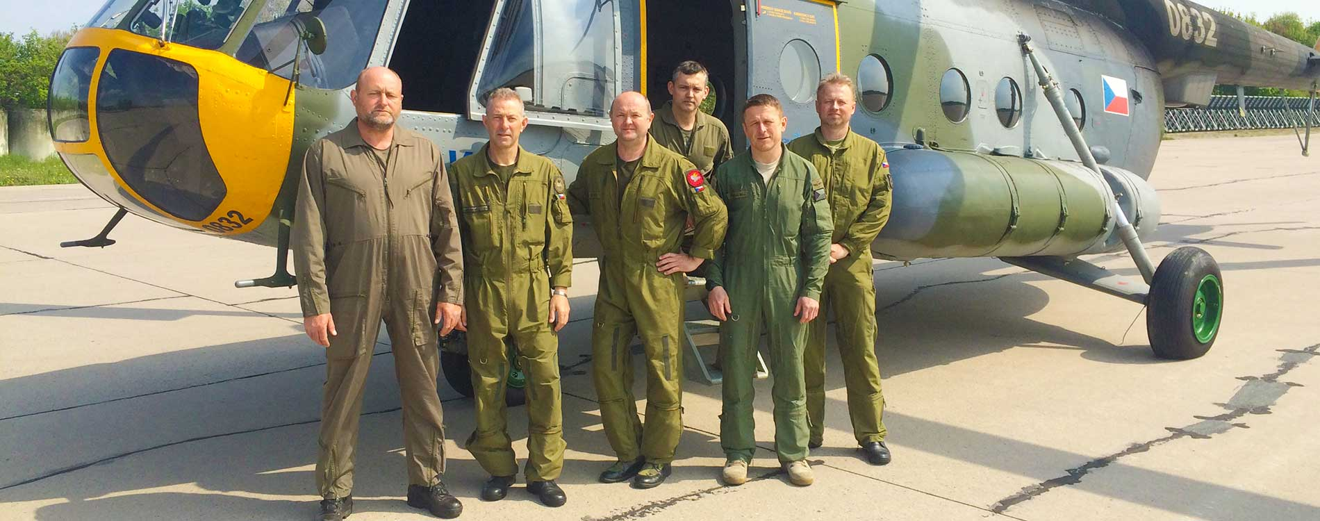 Instructors - Mi-17 Pilot Training