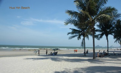 Hua Hin Tahiland Beach