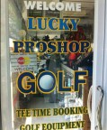 Lucky Proshop tee time bookings golf equipment golf tours and great service