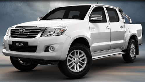 hilux Hua Hin Truck for rent
