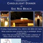 Candelight Dinner @ Sanae Beach Club