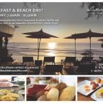 Breakfast on the beach @ Baan Lak