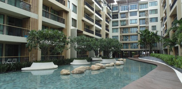 Baan San Suk Beach front  Condo Hua Hin For Sale