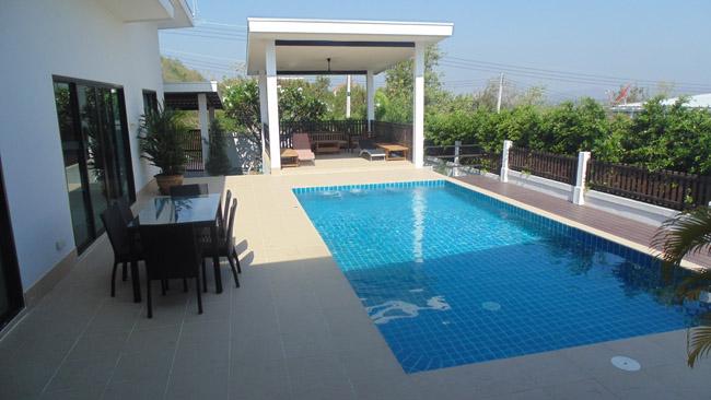 Fantastic 3 bedroom pool villa hua hin thailand 0154 for Outdoor furniture hua hin