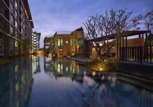 HCR 0555 Baan Kun Koey 2 Bedroom Condominium For Rent  in Hua Hin Thailand