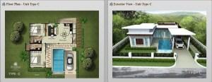 Sivana Gardens Hua Hin Thailand Plan-C