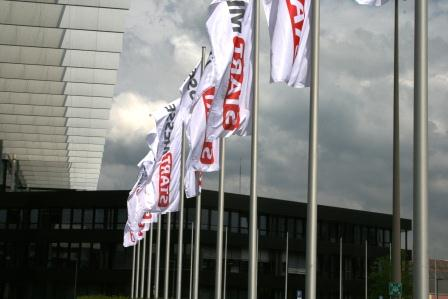 Im Dialog mit Unternehmensgründern bei der START-Messe in Nürnberg