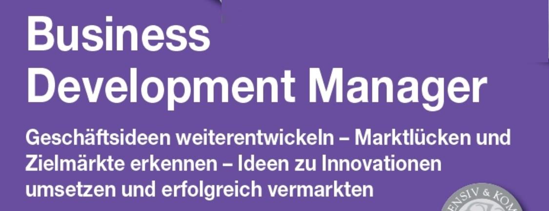 Praxisseminar Business Development Manager