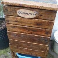 Compostera casera
