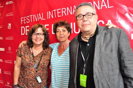 Members of the Jury of the International Short Film Contest