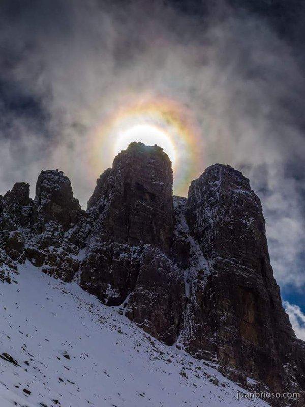 De acceso al Pico Lecherines- en el valle pirenaico de Aísa. Primeras nieves captadas por Juan Brioso
