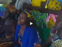 Ladies' Fellowship singing at church