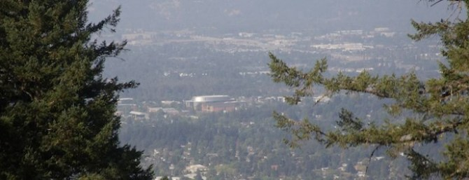 Eugene Oregon from Spencer's Butte