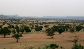View of the the area around Kufai, Gombe State