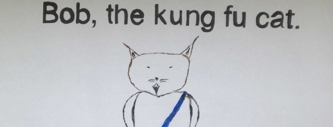 Bob the Kungfu Cat