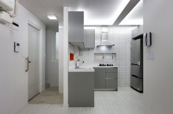 Smothery Small Apartments Suo Jae House To Uph Myself Studio Gaon South Korea Seoul Kitchen Humble Homes Small Apartment Bedroom Small Apartment Bathroom