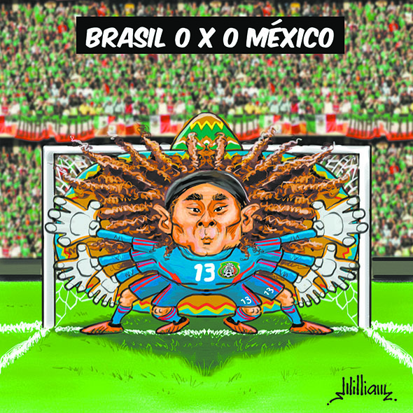 Guillermo Ochoa - por William Medeiros