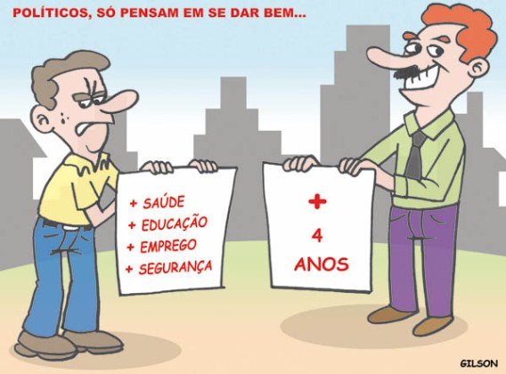 Charge politicos reeleicao 2