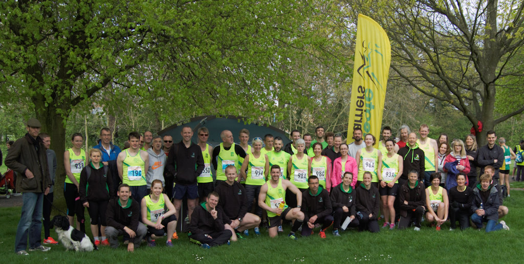 harriers at leicestershire relay