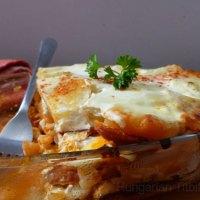 Hungarian Layered Potato - Rakott Krumpli