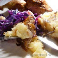 Roasted Duck Legs with Apples and Braised Red Cabbage