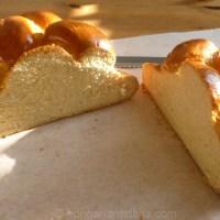 Easter Plaited Milk Bread - Húsvéti kalács